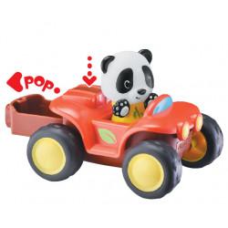 KLORO'GO Le Quad Klorofil + 1 personnage Panda