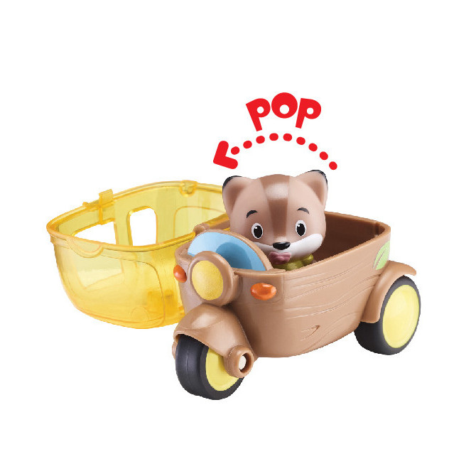 Le side-car Kloro'Go Klorofil + 1 personnage